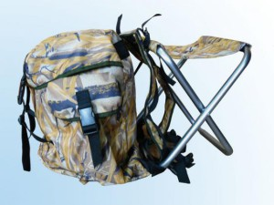 Стул рюкзак для рыбалки
