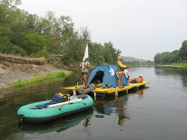 лодки для сплавов по рекам урала