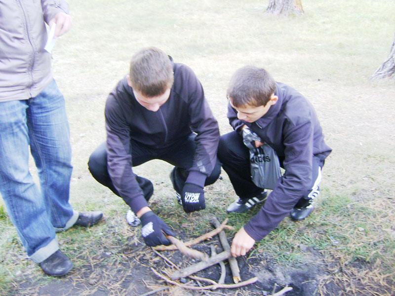 Как подготовить место для костра