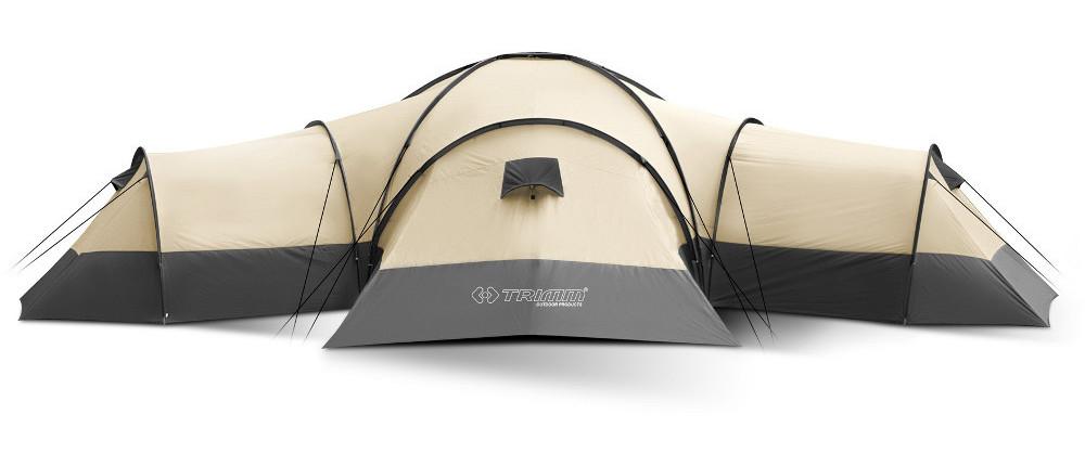Трехкомнатная палатка