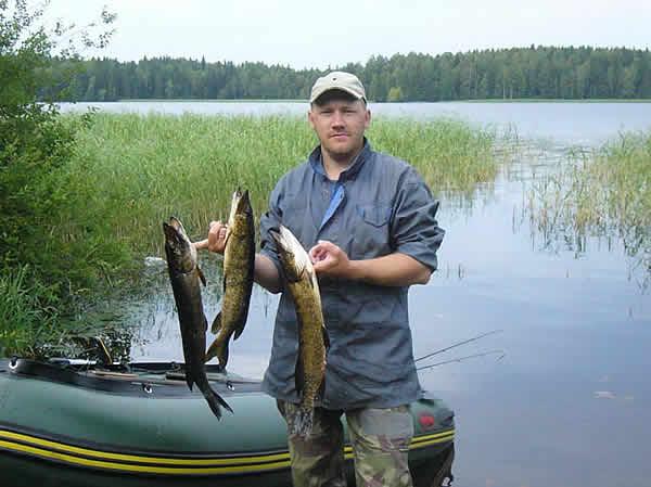 Карелия. Рыбалка. Лучшие места