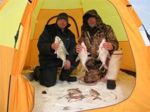 Рыболовные палатки зимние