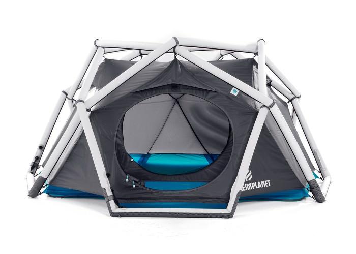 Надувная палатка туристическая