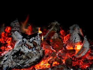 Температура огня в костре