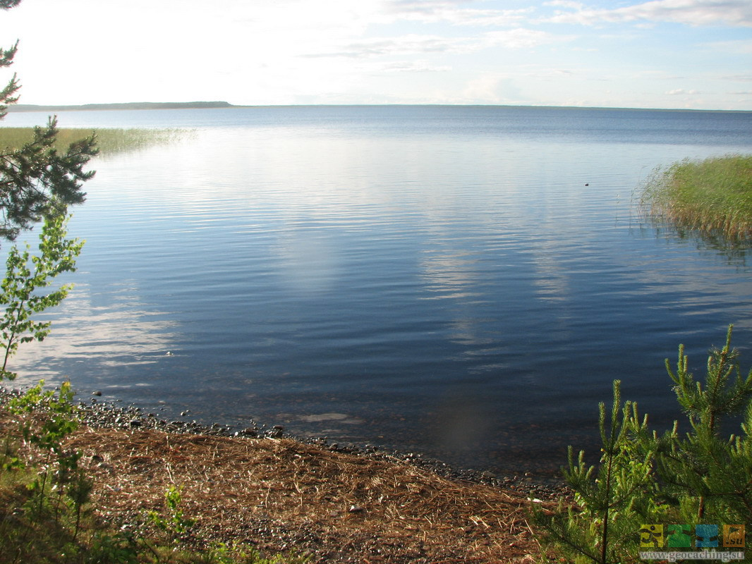 Муромское озеро в Карелии