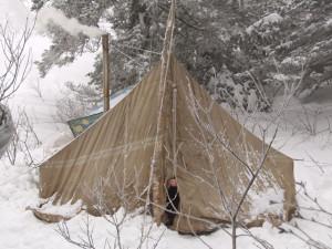 Зимняя палатка своими руками