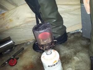 обогреватель для палатки своими руками