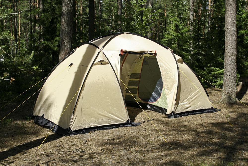 Палатка двухкомнатная